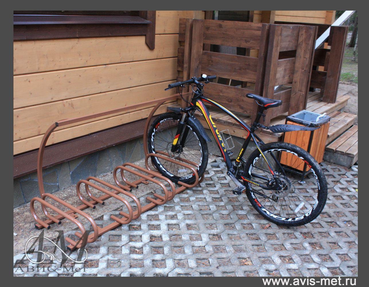 Велосипедная парковка своими руками